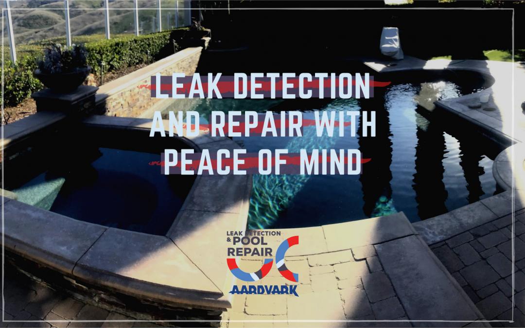 Aardvark Pool and Spa Leak Detection and Repair