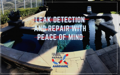 Aardvark Pool and Spa Leak Detection Offers Leak Detection And Repairs with Peace of Mind